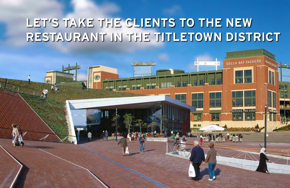 Town Planner Calendar Green Bay Wi : Envisioning the titletown district