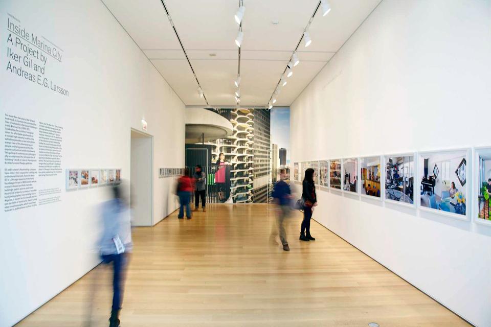 MAS Studio Inside Marina City Art Institute of Chicago