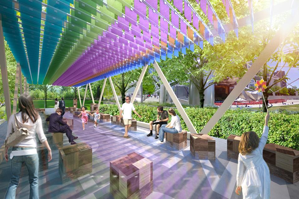 "Special T Si >> MAS Studio » MAS Studio to design pop-up ""outdoor living room"" in Millennium Park"