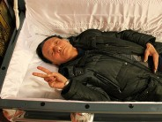 China's latest weird attraction: simulate your own death