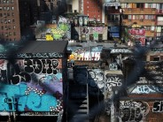Is the rise in graffiti complaints a return to New York's dark days or a golden age of street art?