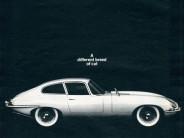 jaguar xk-e ad, 1964