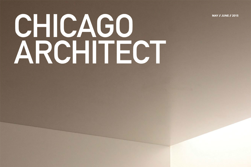 Elemental Kitchen, cover of Chicago Architect
