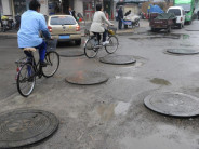 Shanghai's Manhole Covers to Be Monitored from Space
