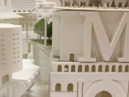 Details of several models/scenarios featured in the exhibition…