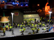 Artist Jimmy Cauty's dystopian diorama – in pictures