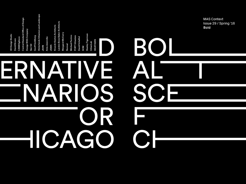 MAS Context releases its twenty-ninth issue, BOLD