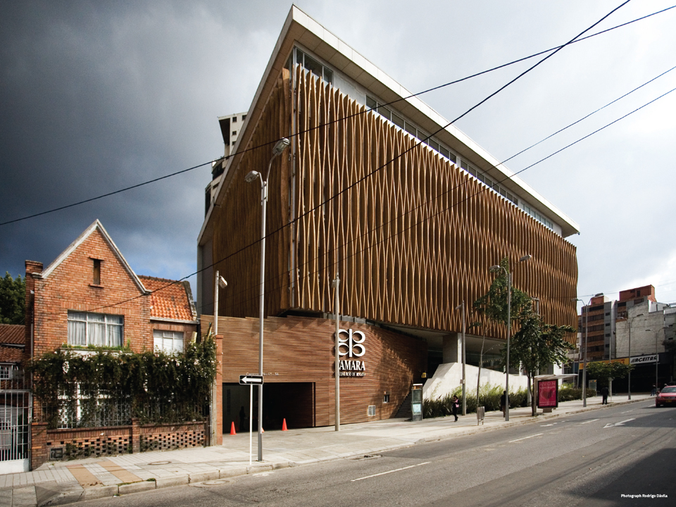 Bogota Chamber of Commerce by Daniel Bonilla Architecture & Urbanism. Photo by Rodrigo Davila