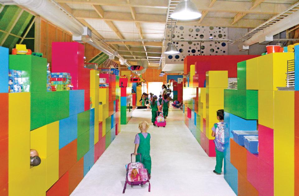 Bureche Kindergarten by Juan Manuel Pelaez. Photo by Juan Manuel Pelaez