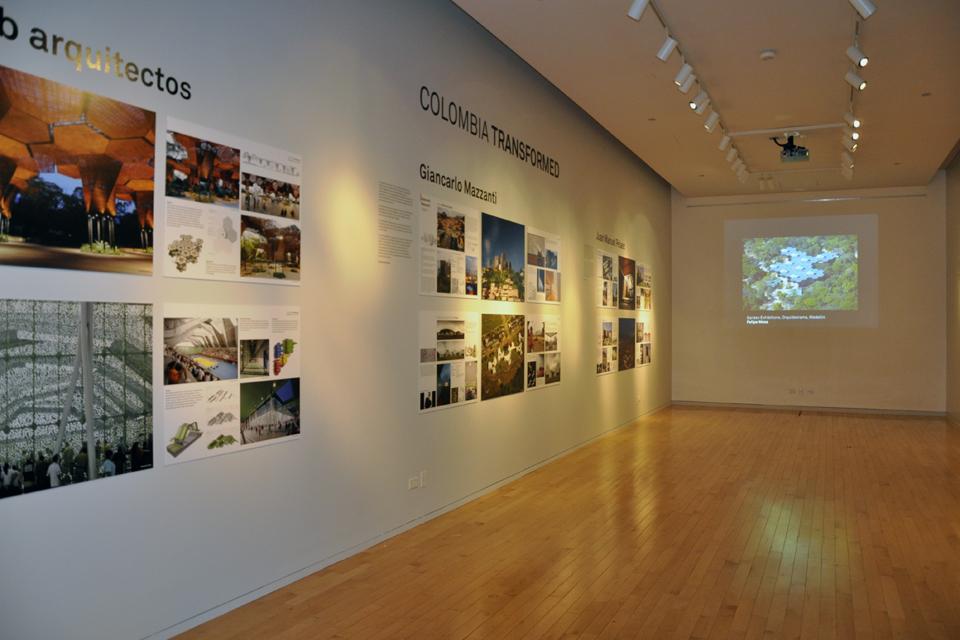 Exhibition space. Photo by Maria Villa.