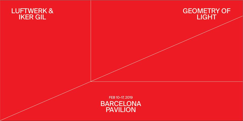 Geometry of Light at Barcelona Pavilion