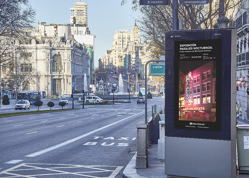 Clear Channel and MAS Context take Nocturnal Landscapes to the streets of Spain